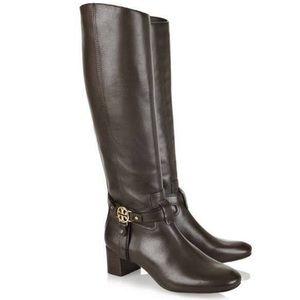 Tory Burch Donovan Leather Knee High Boots sz 7.5M